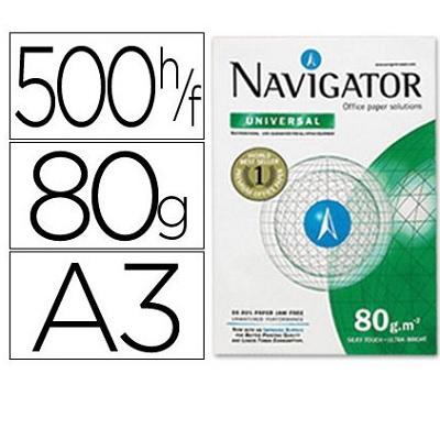 Papel A3 80g Navigator (500fls)