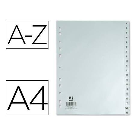 Separadores A4 Plastico A-Z