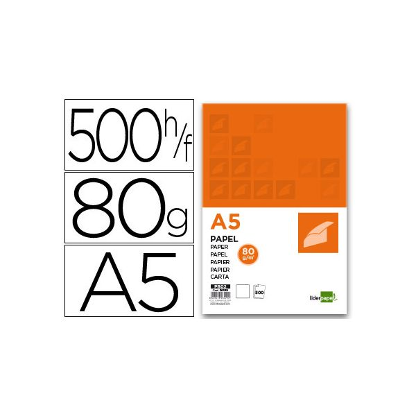 Papel A5 80g (500fls)