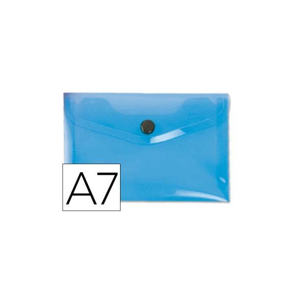 Bolsa Porta Documentos A7 c/ Mola Azul