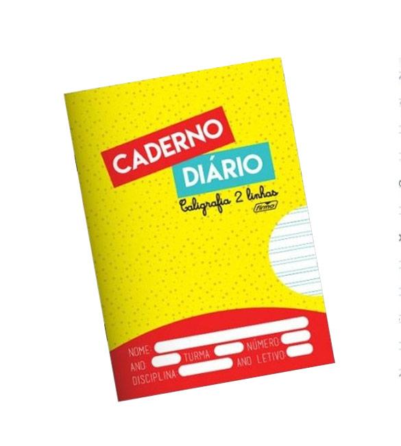 Caderno Agrafado A5 20fls 2 Linhas