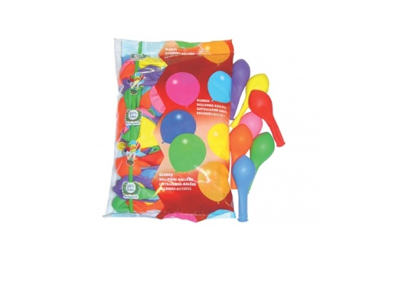 Balões Latex Cores Sortidas