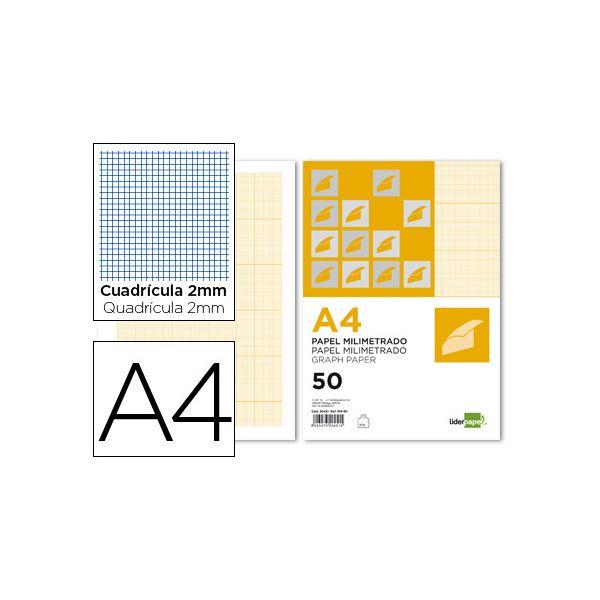 Papel A4 Milimetrico 50fls