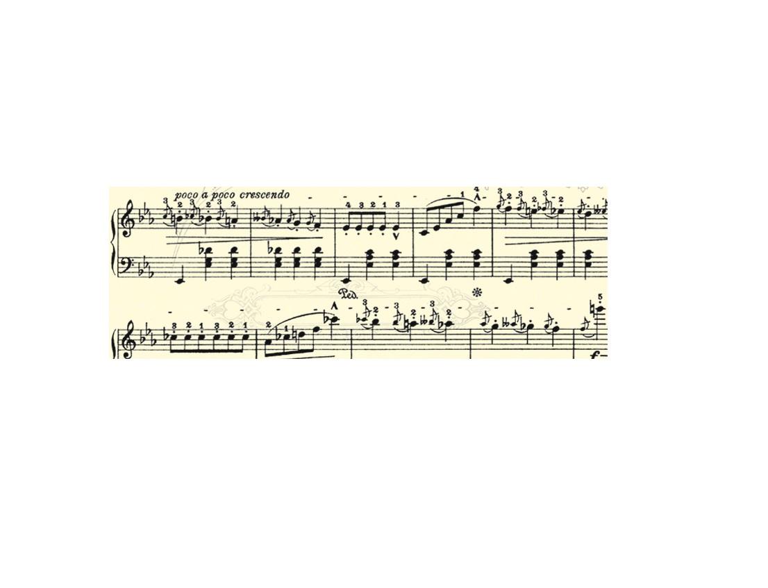 Cartolina Pauta Musica 300g
