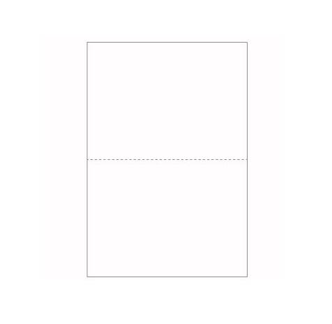 Papel A4 80g Picotado ao meio (5x500fls)