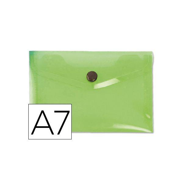 Bolsa Porta Documentos A7 c/ Mola Verde