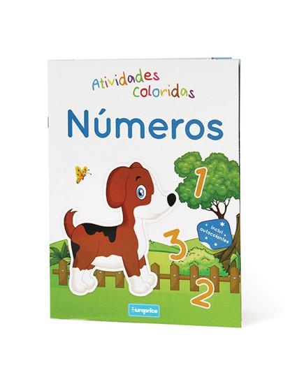 Atividades coloridas- Números
