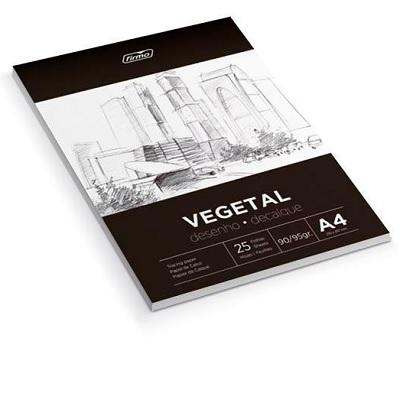 Papel A4 Vegetal 90/95g 50fls