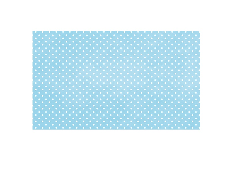 Cartolina Pintinhas Azul 300g