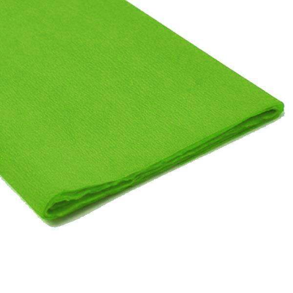Papel Crepe Verde Rolo 0.5x2.5m