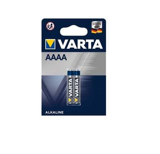 Pilha Alcalina AAAA Varta - 2 Pilhas