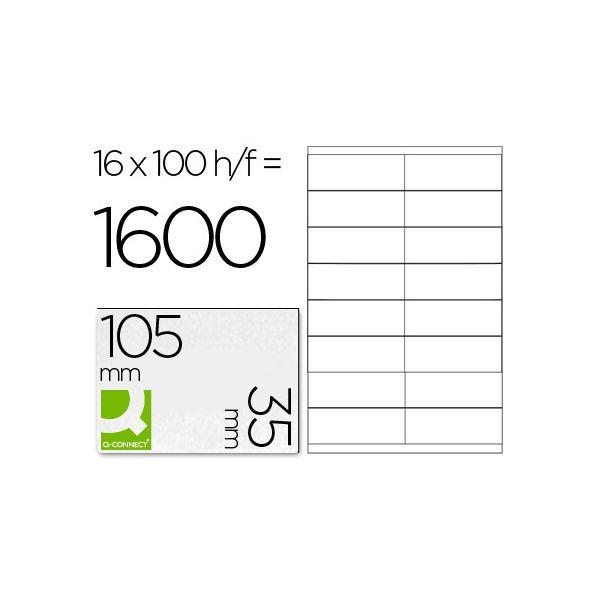 A4 105x35mm (16) Branco (100fls)