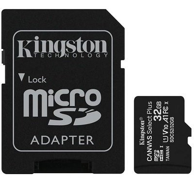 SD Card 32GB (micro) Class 10