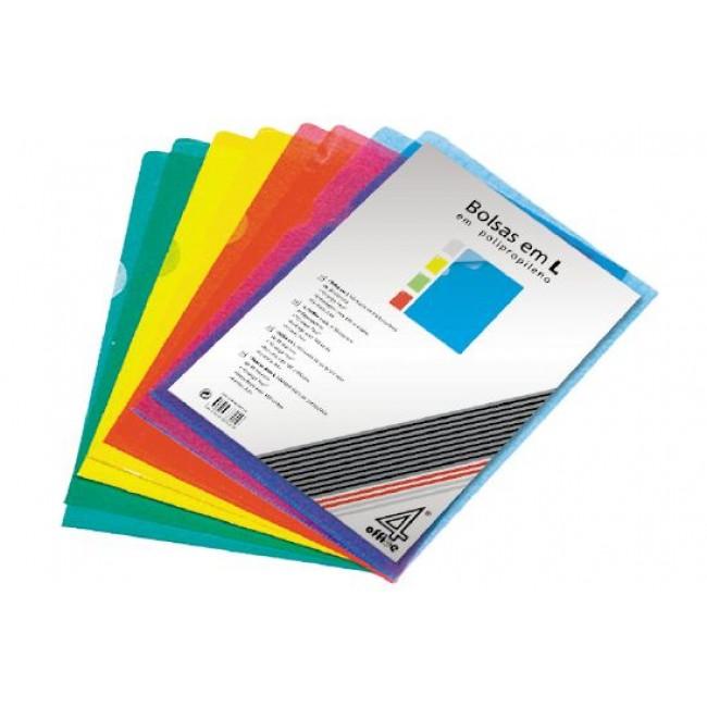 Bolsa Dossier A4 em L 120microns (100un)