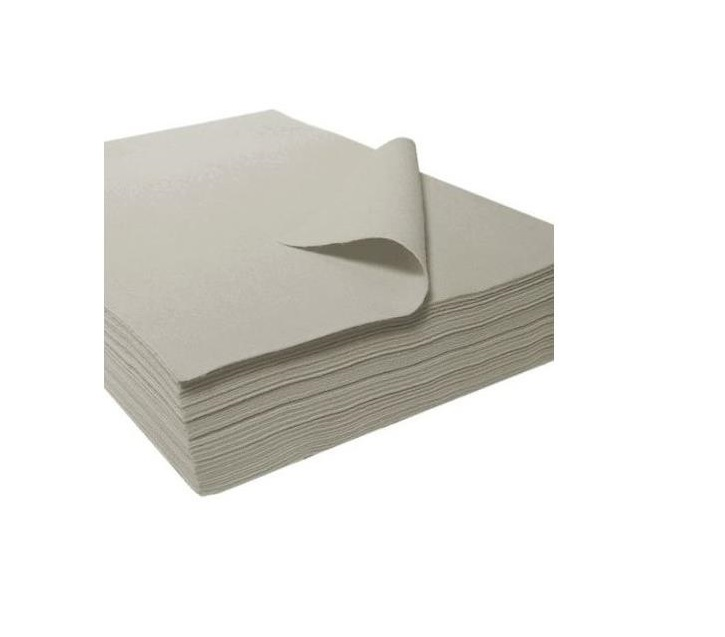 Folha feltro 30x45x3.5mm cinza