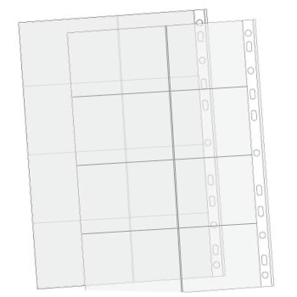 Bolsa p/ Calendarios 8 divisoes (pack 10) A4