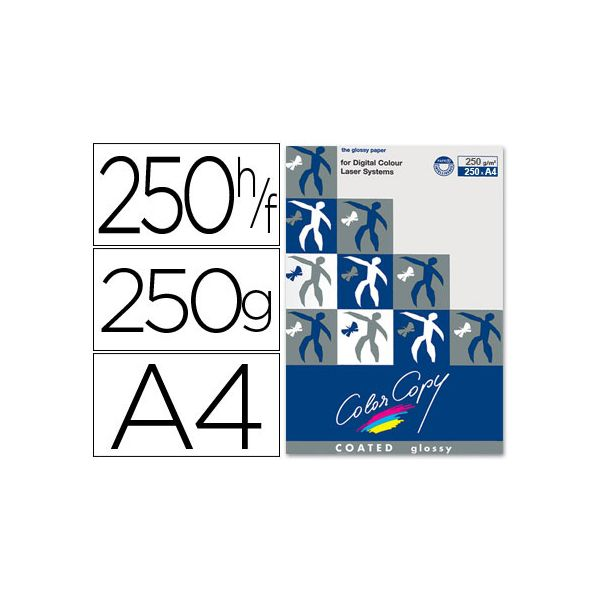 Papel A4 250g Foto Glossy (250fls) Color Copy Mondi