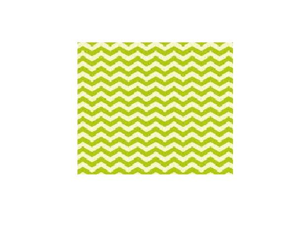 Cartolina Chevron Verde 300g