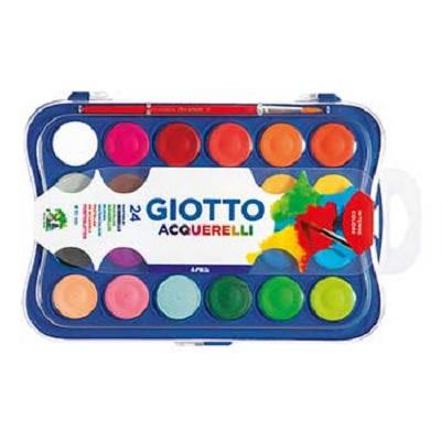 Aguarelas Giotto 24 Cores