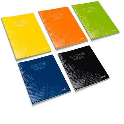 Caderno A4 Agraf. 48fls Quad.