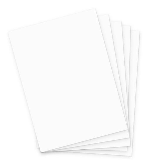 Cartolina A3 180g Branco (100fls)