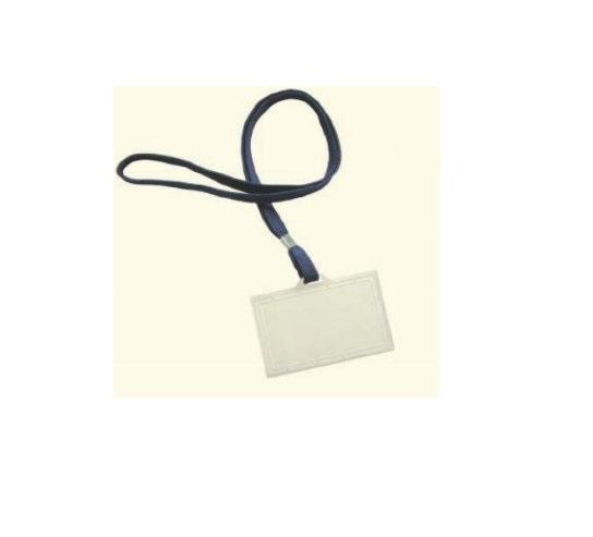 Porta Cartao Identificador c/ Fio 95x60mm