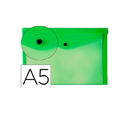 Bolsa Porta Documentos A5 c/ Mola Verde