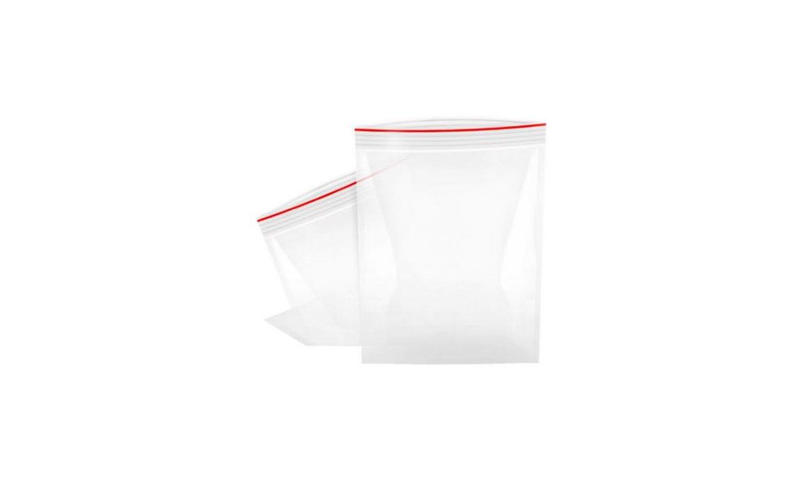 Saco Transparente c/Zip 10x15cm APLI 13128 (100un)