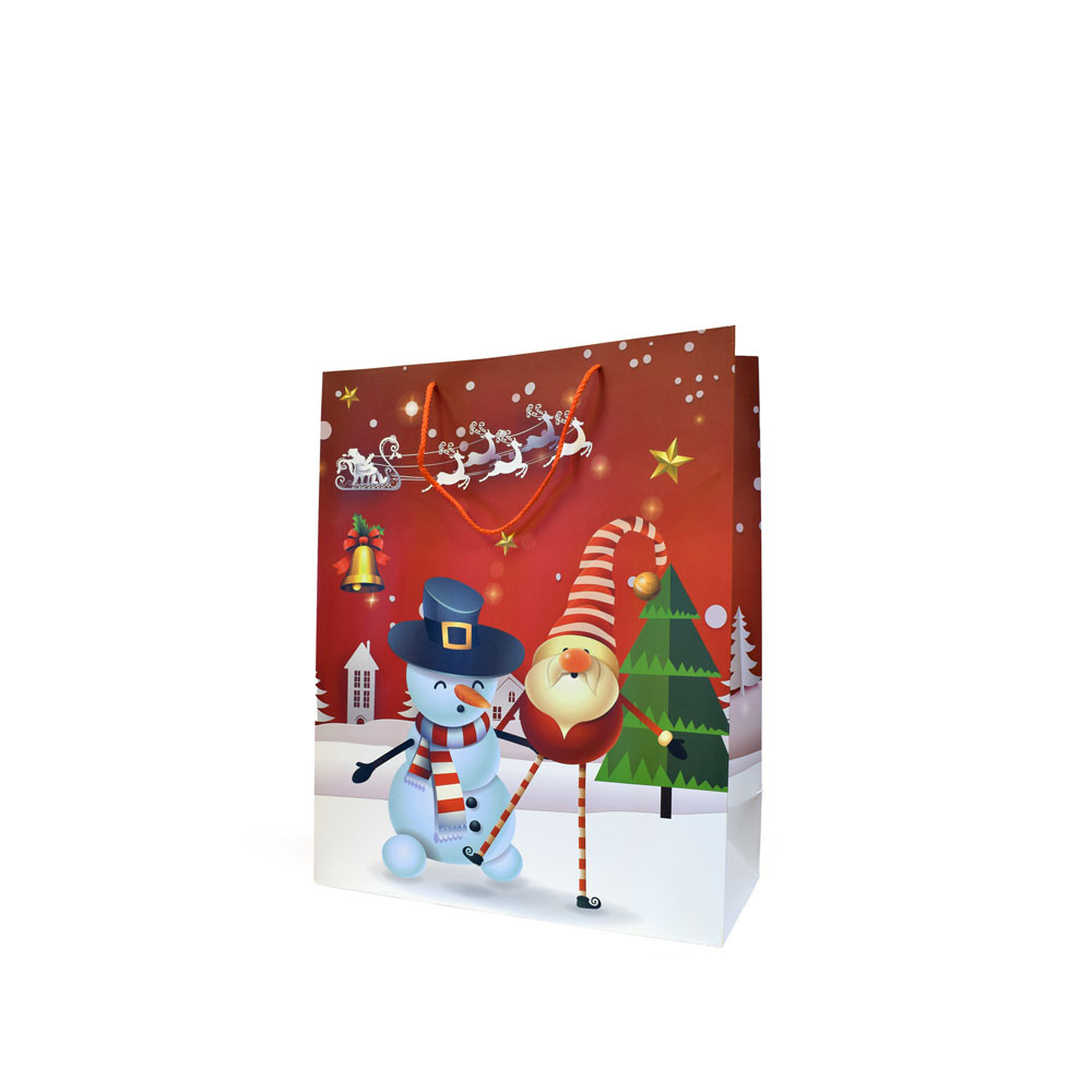 Saco Papel 42x12x30 Motivos Natal