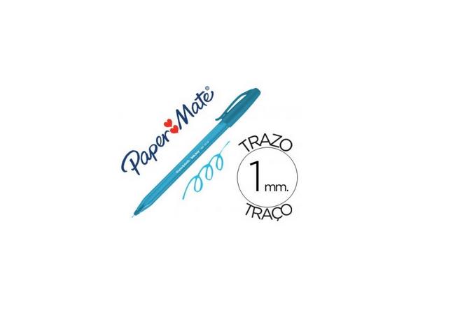 Papermate Inkjoy Mini Azul Turquesa