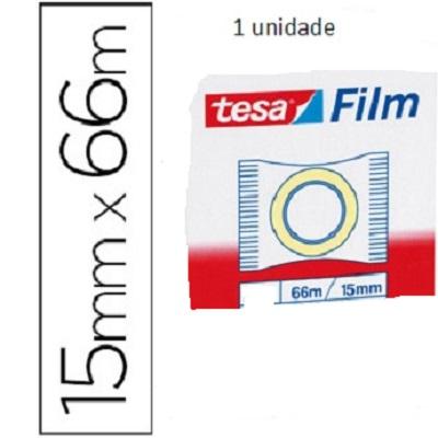 Fita Ad. 15mmx66m Tesafilm (1 rolo)