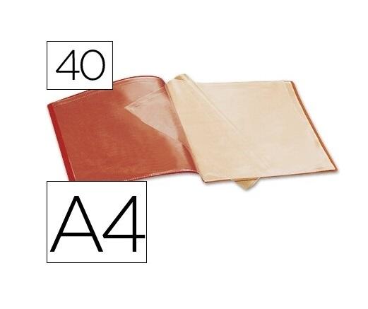 Capa Catalogo 40 Bolsas Vermelho