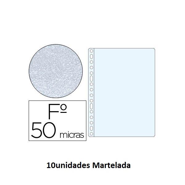 Bolsa Catalogo A4 50 microns (10un) Martelada