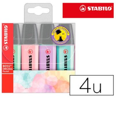 Stabilo Boss Pastel (4un)