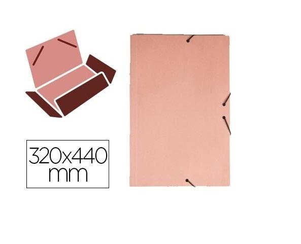 Pasta c/ Elasticos A3 Cartolina Rosa