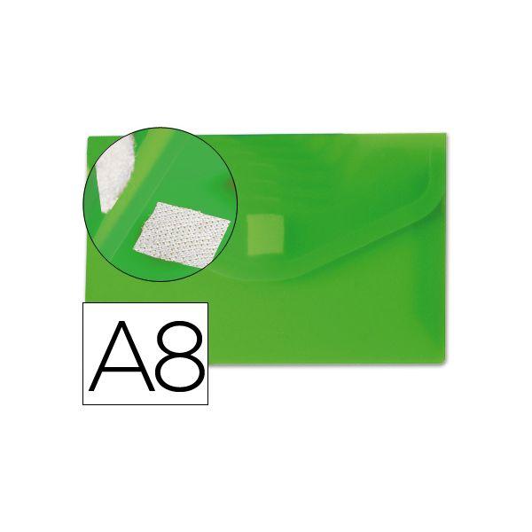 Bolsa Porta Documentos A8 c/ Velcro Verde