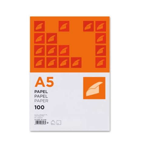Papel A5 80g (100fls)