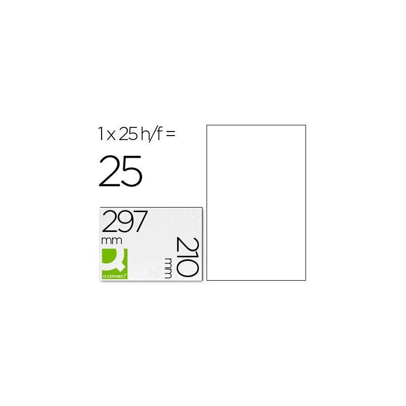 A4 210x297mm (1) Transparentes (25fls)