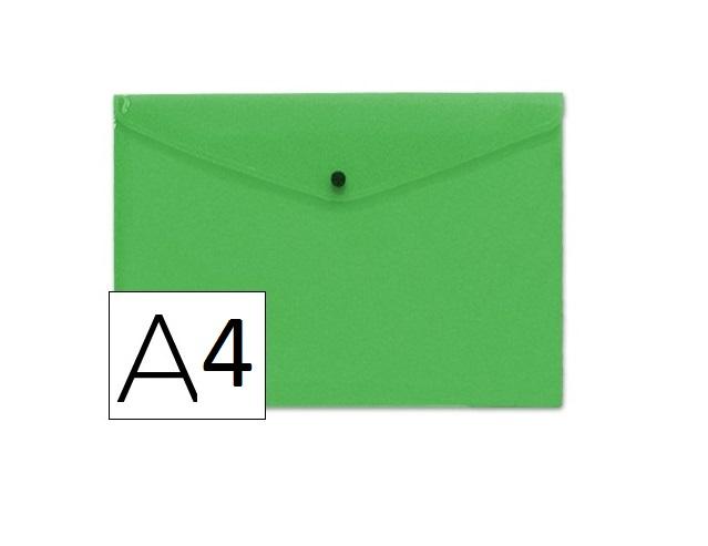 Bolsa Porta Documentos A4 c/ Mola Verde