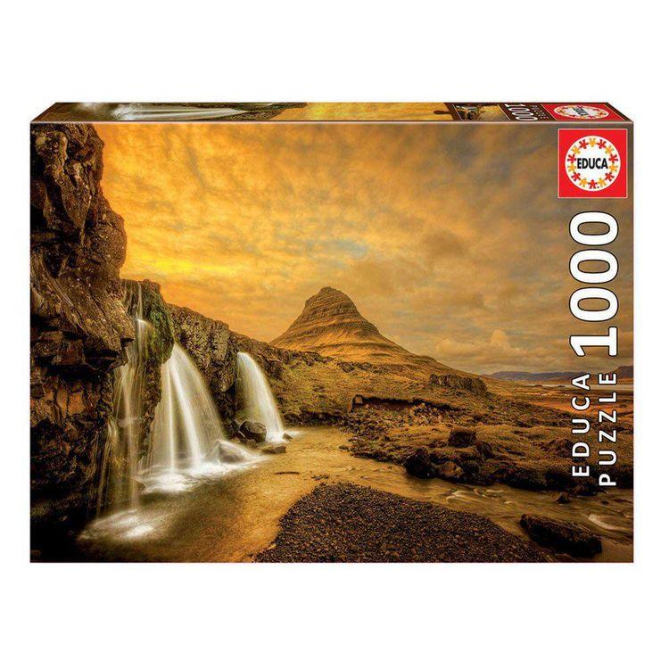 1000 Cascata de Kirkjufellsfoss, Islândia