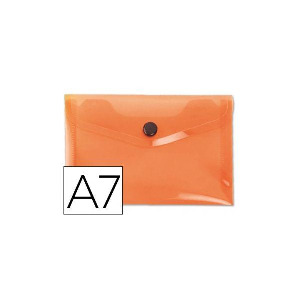 Bolsa Porta Documentos A7 c/ Mola Laranja