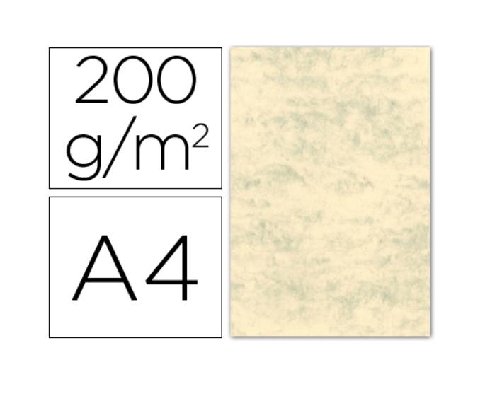 Cartolina A4 200g Marmoreada Creme (100fls)