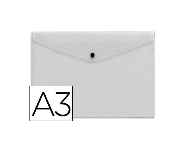Bolsa Porta Documentos A3 c/ Mola Transparente