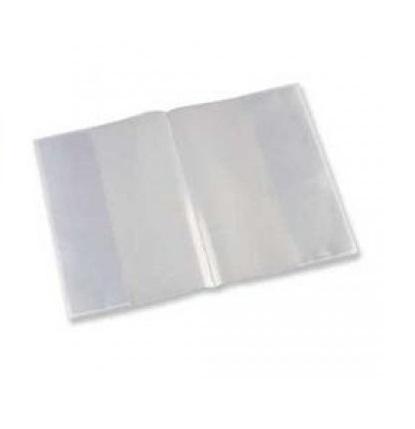 Bolsa forra livros 63x43 transparente