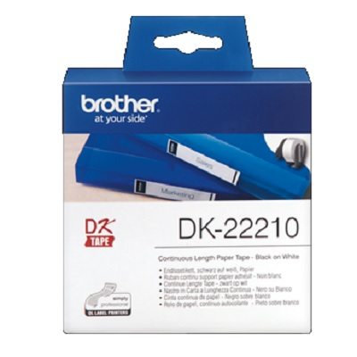 Etiquetas 29mmx30.48m Continuo DK22210
