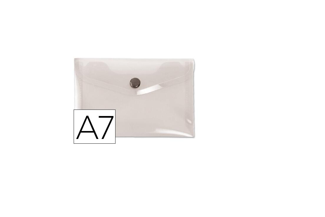 Bolsa Porta Documentos A7 c/ Mola Transparente