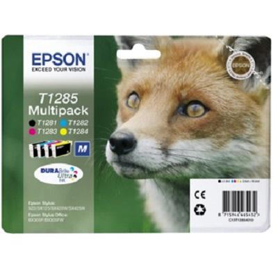 T1285 - Tinteiro EPSON Pack 4 cores