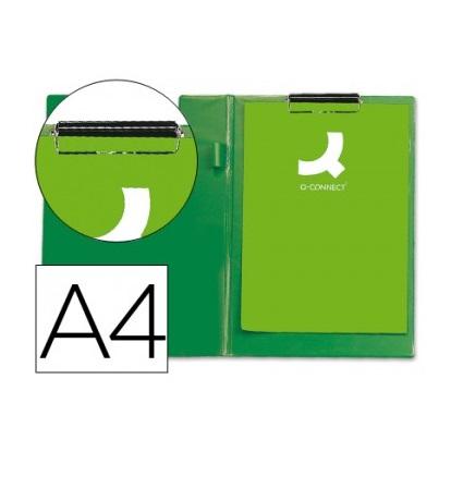 Prancheta Porta Notas A4 com Mola Verde