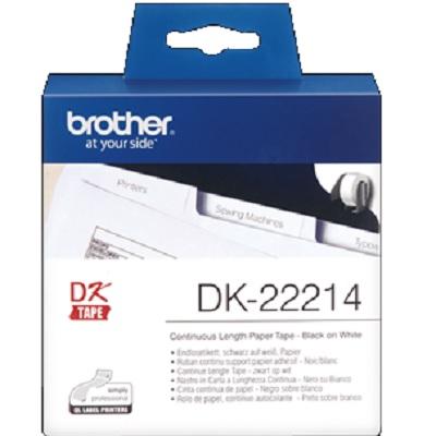 Etiquetas 12mmx30.48m Continuo DK22214