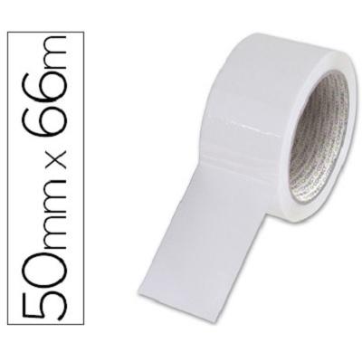 Fita Ad. 5cmx66m Branca (1 rolo)